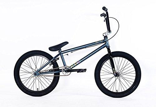 Academy BMX Aspire–Bicicleta BMX 20Pulgadas para Principiantes, Platino