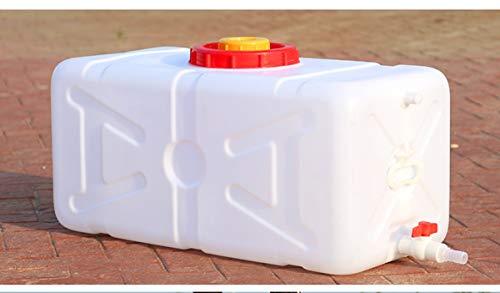 Cubo De Almacenamiento De Agua Multifuncional Bidón Plástico Con Grifo Gran Capacidad Contenedores De Agua Almacenamiento De Agua Cubo De Agua Portátil Tanque De Agua Del Coche Beber De Emergencia Car