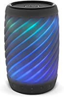 iHome Alexa Built-in Bluetooth Speaker Portable Wireless Color Changing Waterproof Rechargeable Lights Up to Music with...