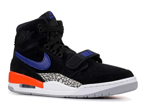 Nike Herren Air Jordan Legacy 312 Fitnessschuhe, Mehrfarbig (Black/Rush Blue/Brilliant Ornge 048), 42.5 EU