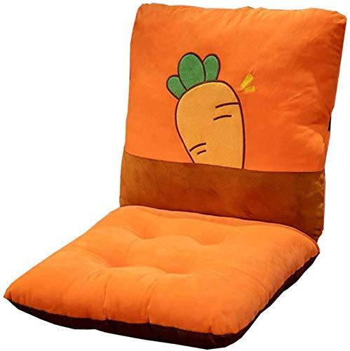 AYCYNI Cojín de Asiento de Confort Cojín Cuadrado Alambre 43x86cm Cojín de Asiento Monoblock Cómodo y Transpirable Separación para Oficina, Aula, Externa (Color, Gris),Naranja