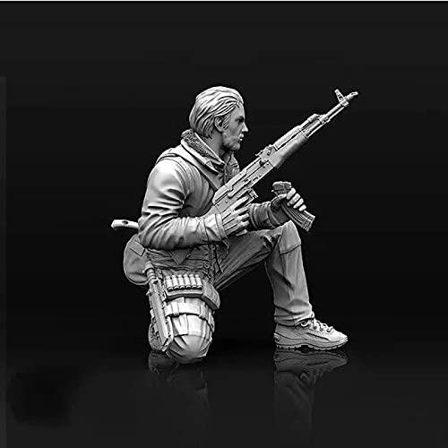 Risjc 1/35 thème de la Guerre kit de modèle en résine mercenaire américain Afghan Non assemblé et Non Peint kit de Soldat miniature-8A2078