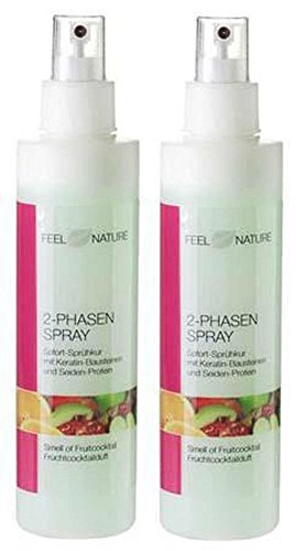 2er Set: Feel Nature 2 Phasen Pflegespray 2 x 200 ml