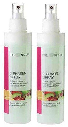 2er Set: Feel Nature 2 Phasen Pflegespray 2 x 200 ml