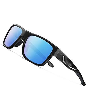 ea8acf37adc87b Torege 偏光レンズ サングラス 超軽量フレームTR90 UV400 紫外線カット 抗衝撃 男女兼用 スポーツ