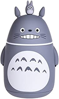 Bamboo`s Grocery Cute Totoro Vacuum Bottle, Travel Mug, 280 ML, Grey