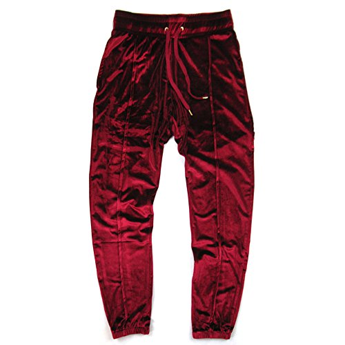 Hosen Velours Samt Hip Hop Jogger Jogging Running Gym