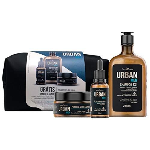 Farmaervas Urban Men Kit Com Necessaire