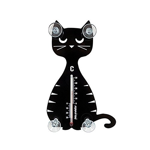 Pluto Thermometer Katze sitzend