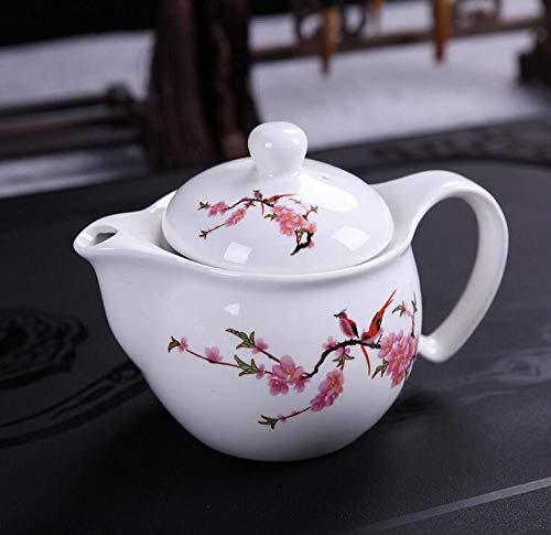 Wasser Kocher Tee Kanne Traditionen PorzellanTeekanne Reisebüro Tee-Set Doppelte Teekanne Gürtel Filter Kung Fu Teetasse Wasserkocher Porzellan Teegeschirr 300 Ml