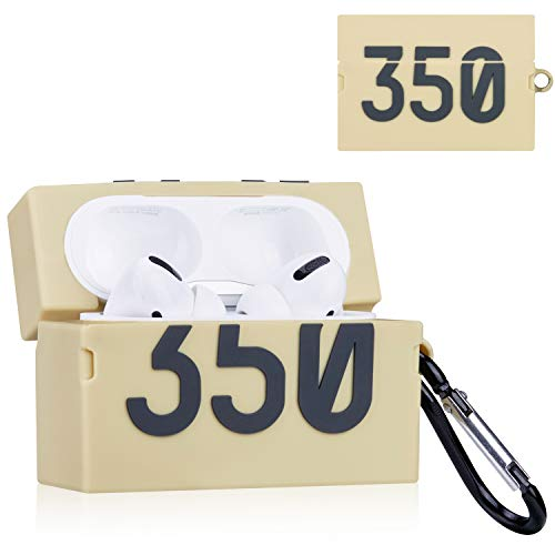 Joyleop(350 Shoes Box) for Airpods Pro/for Airpod 3 Case Cover, 3D Cute Luxury Funny Fun Cool Stylish Fashion Pattern,Soft Silicone Air pods Character Skin Keychain Accessories Kits for Airpod Pro/ 3