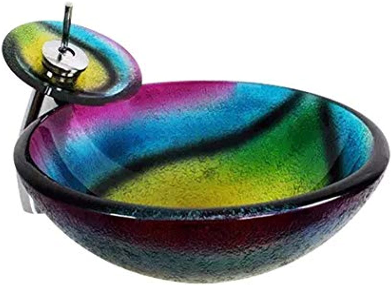 Kohles Glas Waschbecken im Badezimmer Waschbecken Kunstbecken Badezimmer Sanitrkeramik