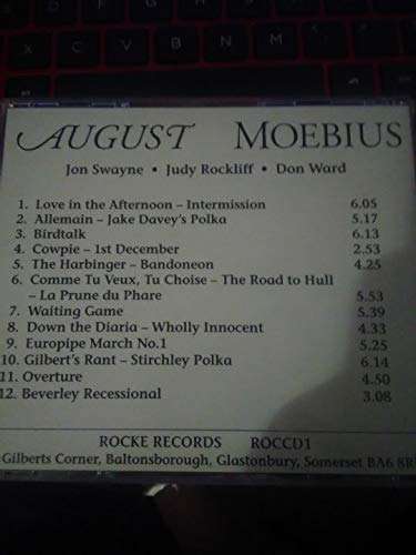 August - New Music for Three Bagpipes Cd(1993)