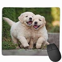 マウスパッド かわいい犬 ペット Mousepad ミニ 小さい おしゃれ 耐久性が良 滑り止めゴム底 表面 防水 コンピューターオフィス ゲーミング 25 x 30cm