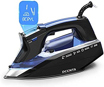 Dcenta LCD Screen Professional Grade Powerful 1500W Steam Iron
