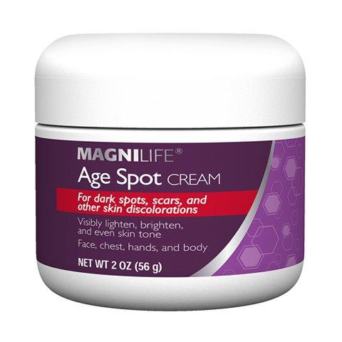 Age Spot Cream by Magnilife | Natural Botanical Formula for Youthful Skin Tone | 2 oz