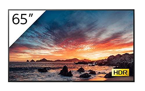 SONY Monitor Profesional BRAVIA 65' LED 4K OPERATIVIDAD 18/7 / HDR / 560CD/M2 / Solo Horizontal/TV Tuner/Control IP / RS232 / 3 AÑOS Garantia REEMPLAZO (FWD-65X80H/T1)