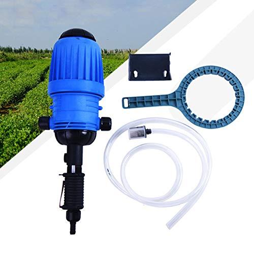 WOFEI 0,4-4% wasserbetriebene Durchflussdosierpumpe, Injektor-Spender für chemische Düngemittel, Dosiergerät, steuerbares Dosiergerät für die Tropfbewässerungs-Mischschlauch-Tierfarm