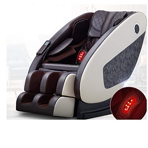 GAOWF - Sillón de masaje inteligente con vibración roja con lámpara de inicio para sofá eléctrico mayor, conexión Bluetooth