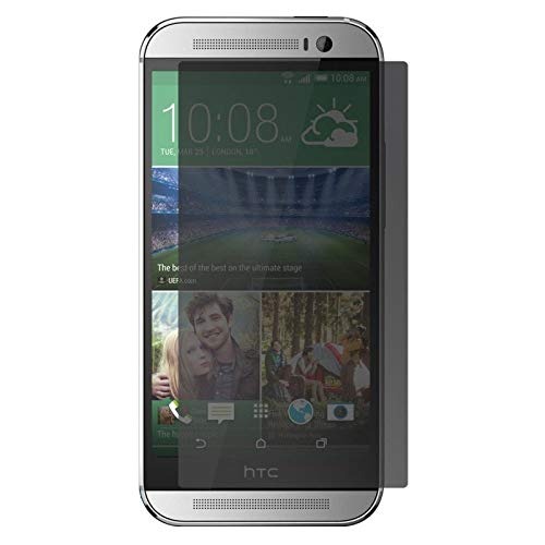 TM-Concept ® película/cristal de protección 68Pick–HTC One M8–cristal templado Filtro Privacidad Privacy...
