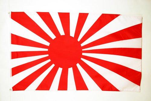 AZ FLAG Flagge KAISERLICH JAPANISCHE Armee 90x60cm - Japan WWI Fahne 60 x 90 cm - flaggen Top Qualität