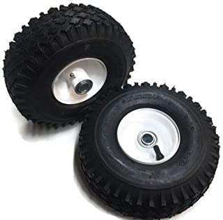 2 Pack Front Mower Wheel for Some Snapper Mowers Replaces Part 7052267, 7052267YP, 7052268, 7052268YP, 7052305