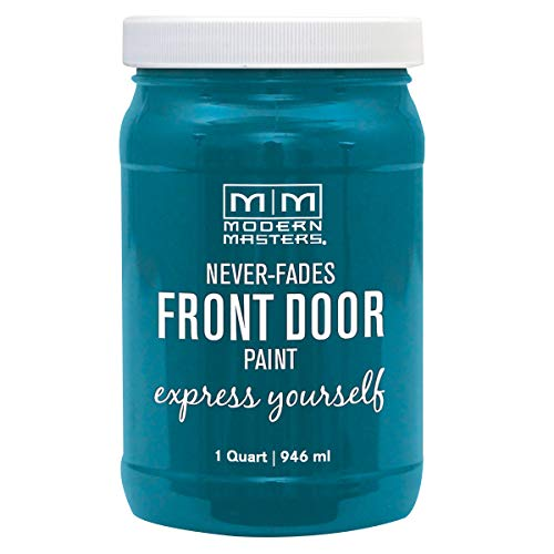 Modern Masters 296681 Front Door Paint, 32 Fl Oz (Pack of 1), Satin Tranquil