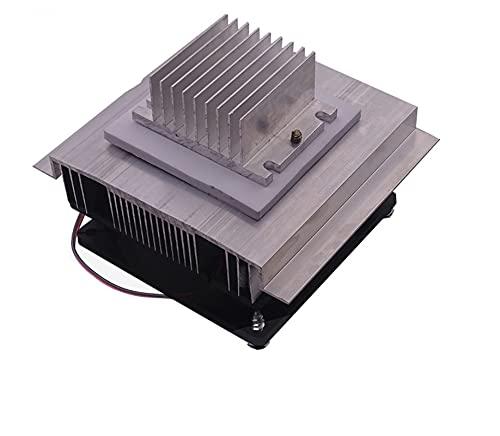 miaomiao Neu-DIY-Kühlset 12V elektronischer Kühlschrank Halbleiter Thermoelektrischer Kühler Entfeuchtungselemente Kühlmodul 12706 Service