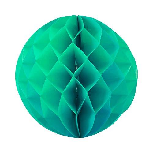 SKYLANTERN Boule Chinoise alvéolée 40 cm Vert d'eau