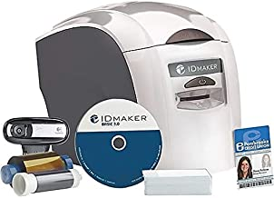 1-Sided ID Maker Complete Photo ID System with Magicard Pronto and ID Badge Design Software and Camera