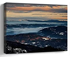 PERFECT CANVAS ART: High Definition Giclee modern canvas printing artwork. A perfect Holiday gifts for your relatives and friends. Home Decor: Good idea for home interior walls decor such as living room, bedroom, kitchen, bathroom, guest room, office...