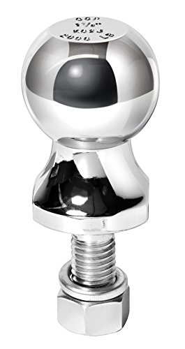 "Reese Towpower 7036800 1-7/8"" Chrome Hitch Ball for ATV/Lawn Tractor"