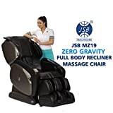JSB MZ19 Zero Gravity Recliner Massage Chair for Home Stress Relief with Cushioned Rollers & Heating