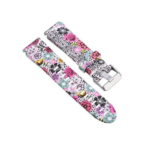 Ouneed® Für Garmin Fenix 5S uhrenarmbänder , Ersatz Silicagel Schnellinstallation Soft Band Strap für Garmin Fenix 5S Uhr (B)
