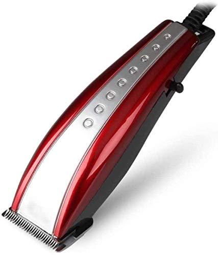 Tondeuse à cheveux Tondeuse Cheveux Clipper Tondeuse électrique plug-in Clipper Tondeuse à raser la tête Outil adulte Générateur professionnel Beauté