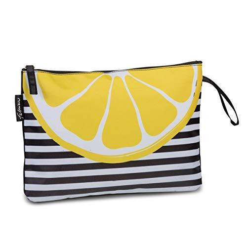 Fabrizio Bikini Bag (Citrus/Stripes)