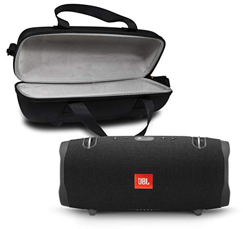 JBL Xtreme 2 Portable Bluetooth Waterproof Speaker Bundle with Hardshell Storage Case - Black