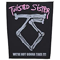 TWISTED SISTER トゥイステッドシスター We're Not Gonna Take It バックパッチ ブラック