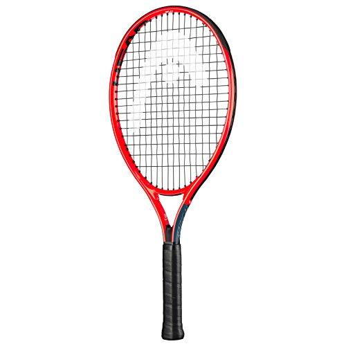 HEAD Radical Raqueta de Tenis, multicolor (Gris/Rojo), 21'