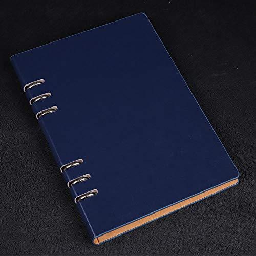 Business Stationery Cuaderno de hojas sueltas Libros de mano creativos, azul, B5