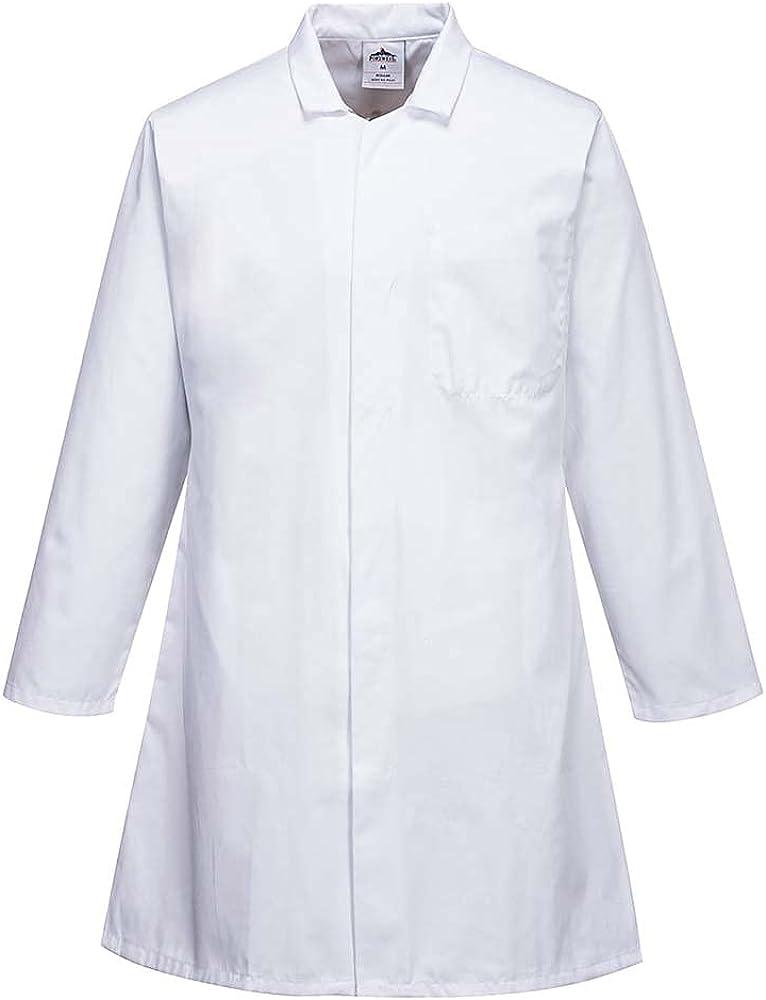 Portwest Workwear Mens Food Coat 3 Pockets