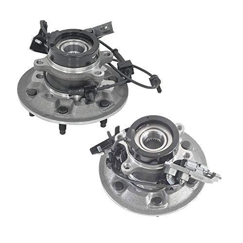 Bodeman - 2PC Front Wheel Hub & Bearing Assemblies w/ABS 515110 515111 for 2004-2008 Chevy Colorado 4WD/ GMC Canyon 4WD