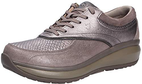 JOYA - Zapatos con cordones para mujer, color gris, color Gr
