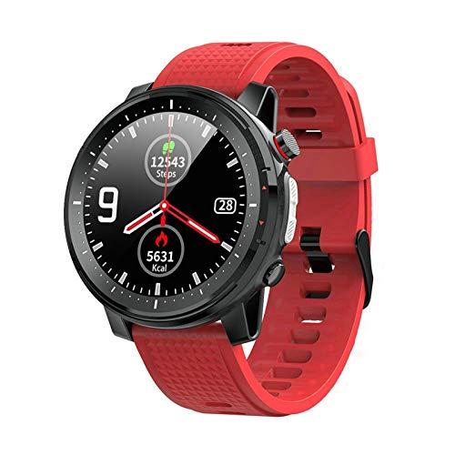 Reloj inteligente, de 1,3 pulgadas Retina Display, Bluetooth 5.0 Control de la música, con recordatorio de mensajes y la linterna IP68 impermeable de los hombres de SmartWatch, compatible con Android