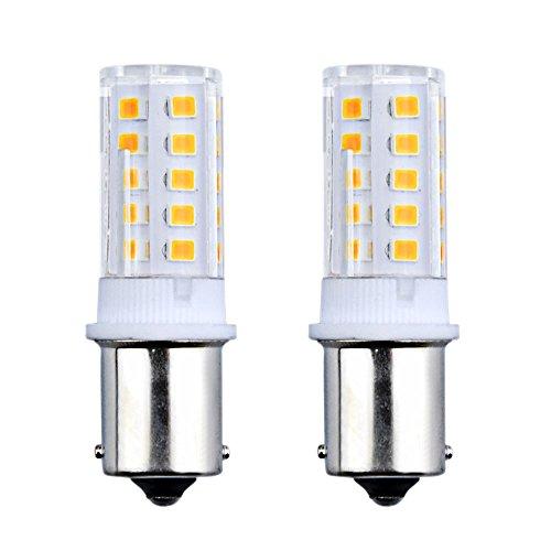 Bonlux 3W 24V P21W 1156 BA15S LED Bombilla con 300 Lumen 32 SMD 2835 para Iluminación Interior de Vehículos, Remolque, Barco (2-Unidades, Luz Fría 6000K)
