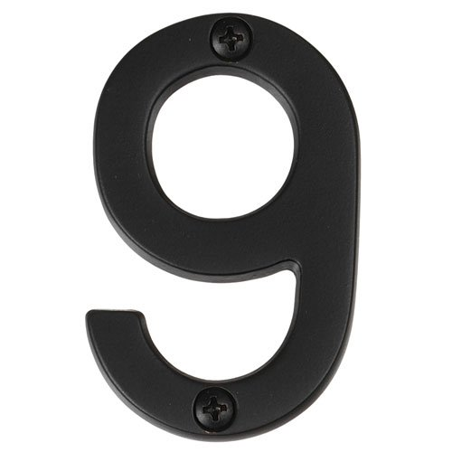 Alno AP9-7-MB Transitional House Numbers, 7