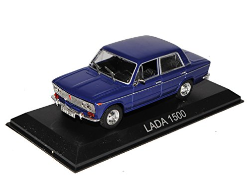 Unbekannt Lada 1500 Limousine Blau 1973-1984 1/43 Modellcarsonline Modell Auto