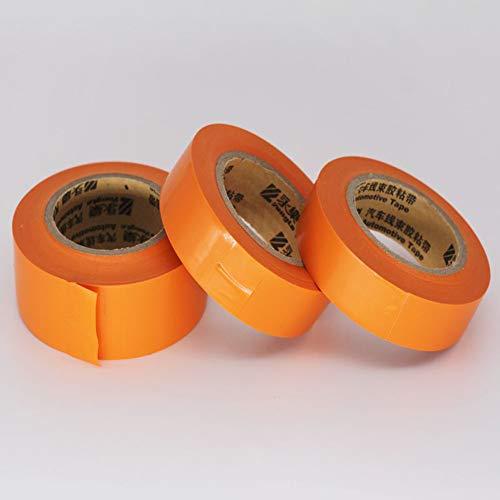 Orange Isolierband-Isolierbandautokabelbaumklebeband-Hochtemperaturband wasserdicht