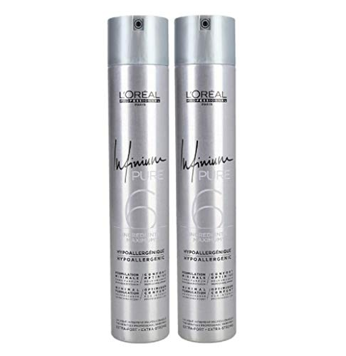 2 er Pack Loreal Infinium Pure Extra Strong 500 ml