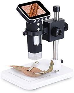 USDWRM USB Digital Electronic Microscope 500X LED Magnifying Glass Pocket USB Digital Microscope with 3.5 inch Screen Lift...